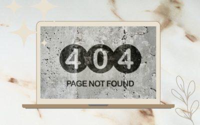Erstelle deine 404-Fehlerseite mit WordPress und Divi